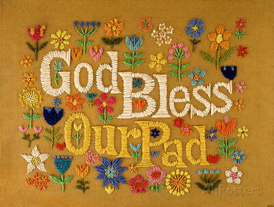 God Bless Our Pad MasterPoster Print, 11x17
