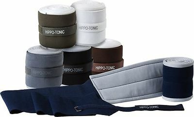 New Pair Black Brown White Hippotonic Bandages with pads 540011