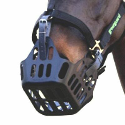 New Large Full Medium Cob Small Pony Greenguard Grazing Muzzle basket 5415