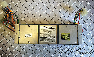 Whelen Edge 9000 Light Bar EB6 Strobe 6 Head Power Supply TESTED
