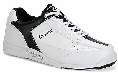 Dexter *NEW* Ricky III Men's Bowling Shoes White/Black