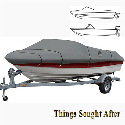LUNEX RS-1 TRAILERABLE MOORING COVER for 17' 18' 19' foot V-Hull Runabout Boat
