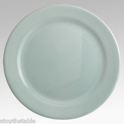 """Vintage Taylor, Smith & T Lu-Ray Blue Round 14.25"""" Chop Plate SERVING PLATE"""