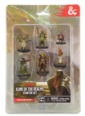 D&D Dungeons&Dragons Miniatures - Miniatur aussuchen - Icons of the Realms