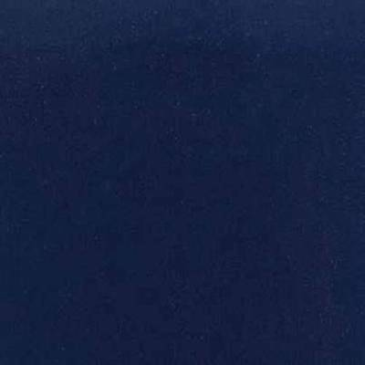 Navy Blue Flocked Velvet Fabric Upholstery Curtain Drapery Material