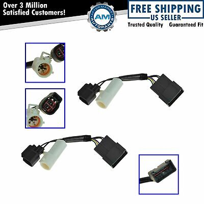 Mirrors Power Heated Upgrade Harness Adapter LH RH Pair Set for 00-01 Excursion