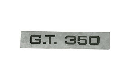 1965-1966 Ford Mustang Shelby Gt350 Taillight Panel Emblem
