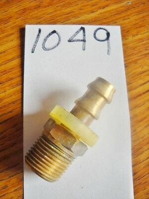 Brass fitting 3/8 male pipe x 3/8 hose barb