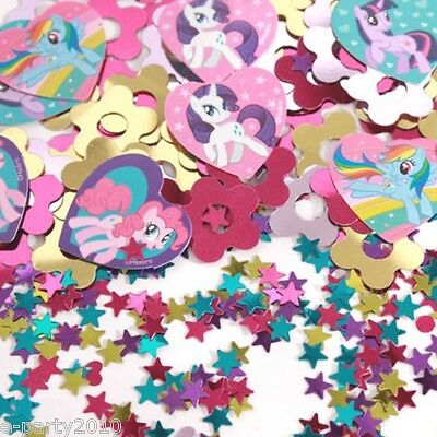 MY LITTLE PONY FRIENDSHIP IS MAGIC CONFETTI ~ Birthday Party Supplies Decoration