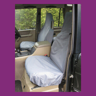 Land Rover Discovery Series 1 Waterproof & Tailored Grey Front Seat Covers