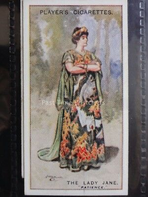 No.21 THE LADY JANE Gilbert and Sullivan A Series - John Player 1925