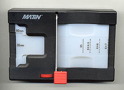 Film Cutter, DrT's favorite! Cuts 35mm & MF film! - Compact lightweight easy use