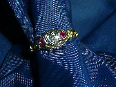 Lds.Vintage Sweetheart Ring
