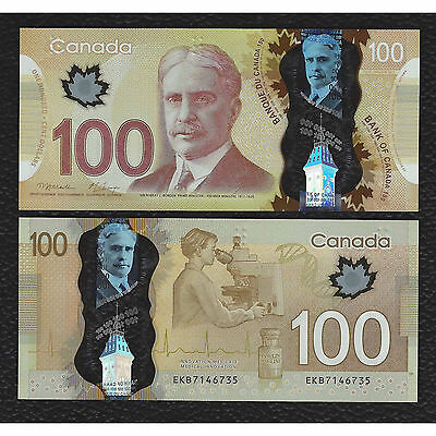 Canada P-110a  2011 100 Dollars Crisp Uncirculated