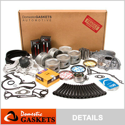 88-93 Dodge Caravan Dynasty Plymouth Chrysler 3.0 SOHC Master Engine Rebuild Kit