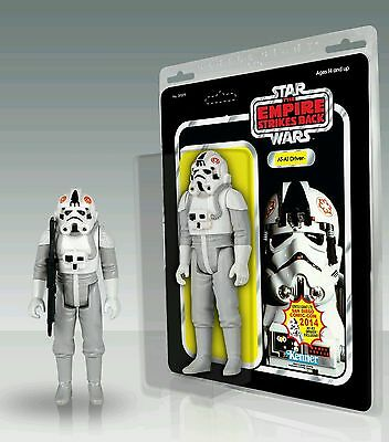 """Sdcc 2014 Exclusive Star Wars At-At Driver Vintage Jumbo 12"""" Figure Gentle Giant"""