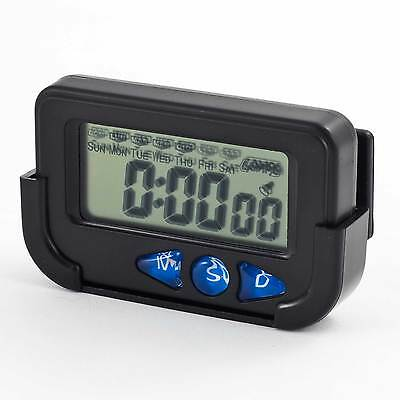 PitKing Multi Function Digital Clock/ Stopwatch - Rally/Race