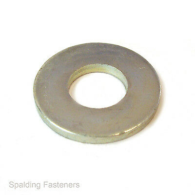 "3/16"" To 3/4"" Imperial Zinc Plated Steel Flat Table 3 & 4 Heavy Washers"