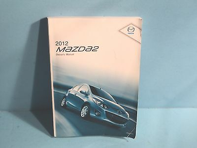 12 2012 Mazda 2/Two owners manual