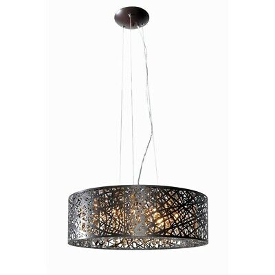 ET2 Lighting Inca 9 Light Pendant, Bronze - E21308-10BZ