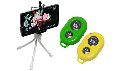 Bluetooth Selfie Wireless Remote Camera Shutter for iPhone and Android Phones