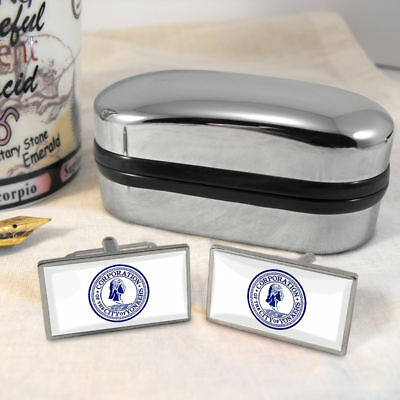 Yonkers Flag Mens Gift Cufflinks US USA New York