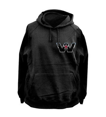 WESTERN STAR TRUCK FLEECY HOODIE BLACK All sizes