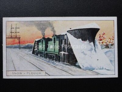 No.41 SNOW PLOUGH - Railway Working (overseas) John Player 1927