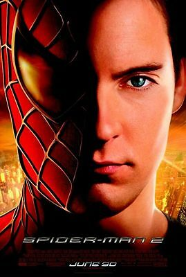 Spiderman 2 - original DS movie poster - 27x40 D/S - Marvel , Final