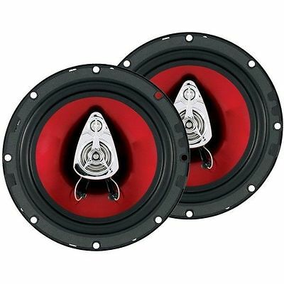 "BOSS AUDIO CH6530 Chaos Series Speakers 6.5"" 3-Way Speaker 300W Max 4ohms Imp"