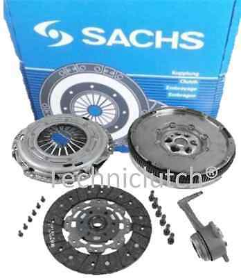 Sachs Dual Mass Flywheel Dmf With Clutch Kit, Csc And Bolts For Golf V 5 2.0 Tdi
