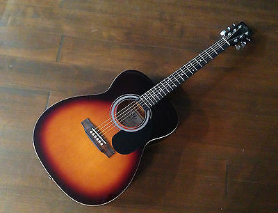 SX Accoustic Parlour / Folk Guitar Vintage Sunburst RRP £129.99 UK SELLER