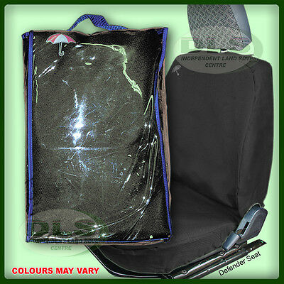 LAND ROVER FREELANDER 1 3dr-  Front W/proof Seat Covers Blk to`04 (DA2810BLACK)