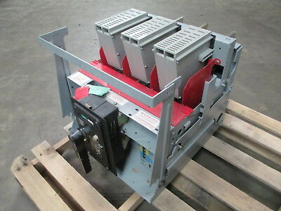 Federal Pioneer 50H-3 2000 Amp Air Breaker MO DO FPL 50H3 Manually LSI Draw Out