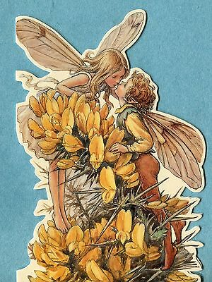 Note Card, Blank, The Gorse Fairies from a Flower Fairy Alphabet