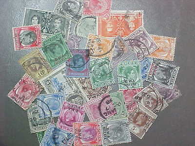 35 Different Straits Settlements Stamp Collection - Lot