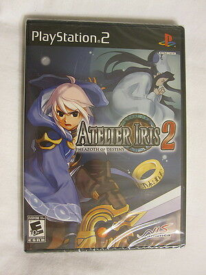 Atelier Iris 2: The Azoth of Destiny (Playstation PS2) Brand New, Sealed~