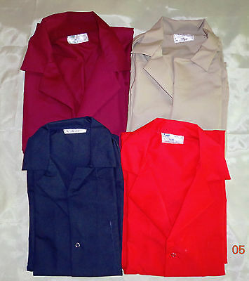 "Best Medical Men L/S Lab Coat Snaps, side Vents & 3 Pocket 43"" Length Sz XS - 5X"