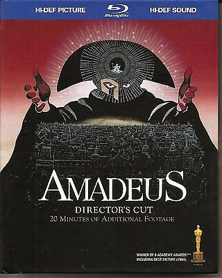 Amadeus (Blu-ray Disc, 2009, With Bonus CD)