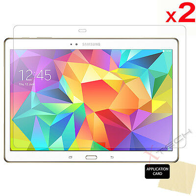 2x Samsung Galaxy Tab S 10.5 Inch (SM-T800 SM-T805) CLEAR Screen Protector Cover