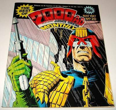 The Best of 2000ad Featuring JUDGE DREDD Monthly Comic Magazine # 20   May 1987
