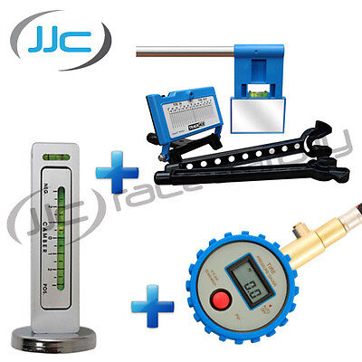 Trackace Wheel Alignment/Tracking + Trackrite Camber/Castor + Pressure Gauge