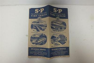 1953 S P Southern Pacific Lines Time Tables (sku-70173)