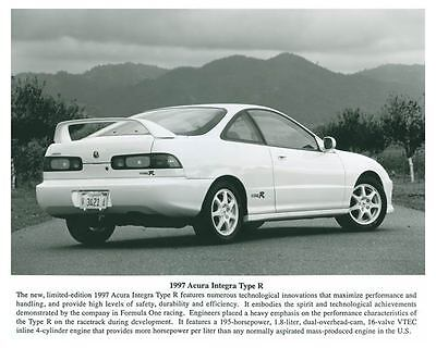 1997 Acura Integra Type R Automobile Photo Poster zch5681
