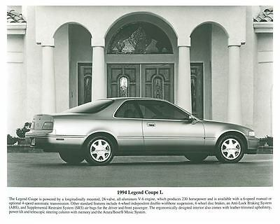 1994 Acura Legend Coupe L Automobile Photo Poster zch5688