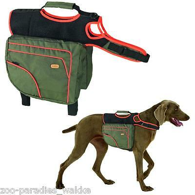 Authentic Dog Sport Multifunktionssattel, Hunde Outdoor Satteltasche  XL - 16313