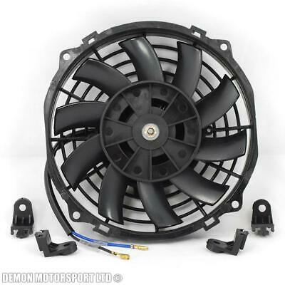 "7"" Fan Universal Electric 12v Slimline Fan For Intercooler Radiator Oil Cooler"