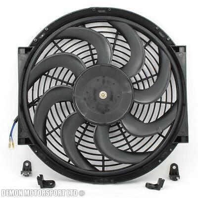 "14"" 14 Inch Fan Universal Performance Push Pull Electric 12v 12 Volt Cooling Fan"