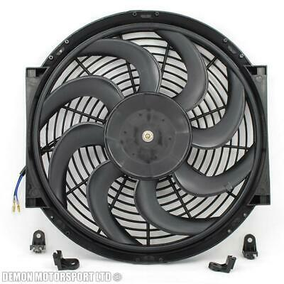 "Universal 14"" Inch Slim Electric Fan - High Speed (Curved)"