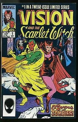 VISION AND SCARLET WITCH #1-12 VERY FINE COMPLETE SET 1985